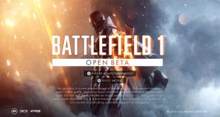 Battlefield One beta 0